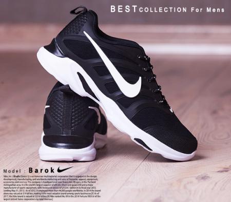 کفش مردانه nike مدل  Barok(سفید)