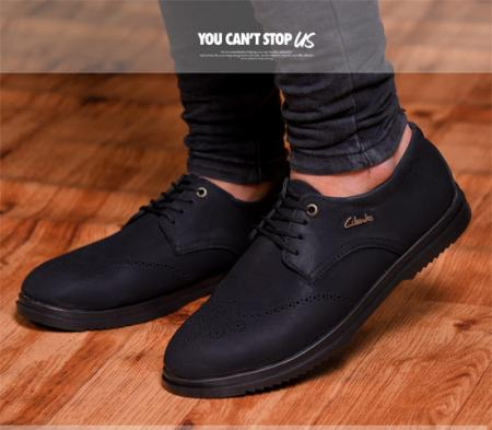 کفش مردانه مجلسی janet (مشکی)