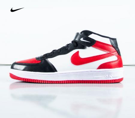 کفش ساقدار nike مدل RAMO (مشکی قرمز)
